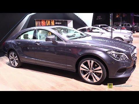2015 Mercedes-Benz CLS-Class CLS220 BlueTec - Exterior, Interior Walkaround - 2014 Paris Auto Show