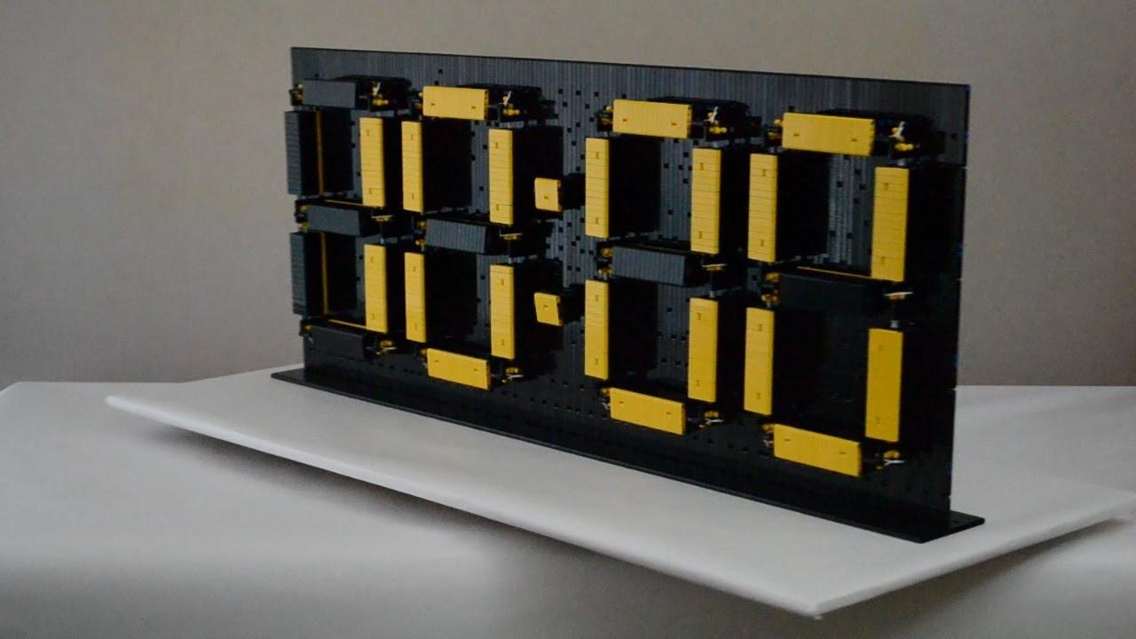 Too Bad This Amazing Lego Digital Clock Will Keep You Awake All Night