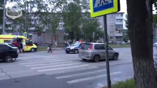 29.07.2018 ДТП Ачинск. ул. Гагарина.