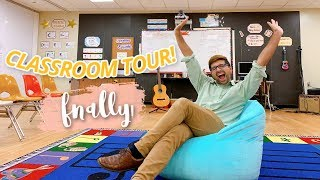CLASSROOM TOUR // Elementary Music Teacher