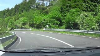 大規模林道、笠菅峠、岡山県苫田郡鏡野町越畑r75-R179奥津車載動画