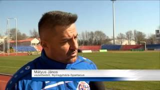 preview picture of video 'Sport - Vereséget szenvedett a Ligakupában a Nyíregyháza Spartacus'