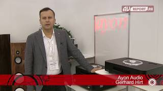 Tube High End CD-players By Ayon At MHS2017