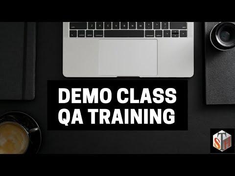Demo Class - QA Training | Software Testing Training | Software Testing Course | QA Online Training
