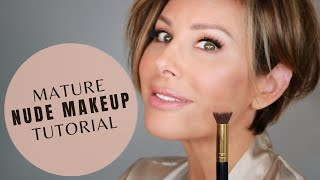 Nude Makeup Tutorial For The Mature Woman   Dominique Sachse