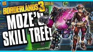 MOZE THE GUNNER - Full SKill Tree and Analysis [Borderlands 3]