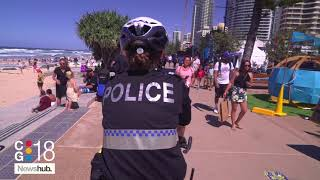 Australian police on bicycles are pulling over naughty drivers | Newshub