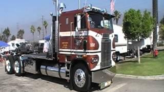 8V92 Powered 1984 Freightliner Cab-Over At Truckin' For Kids 2012