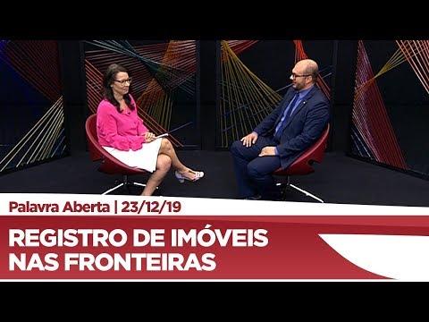 Dr. Leonardo fala sobre registros de imóveis nas fronteiras