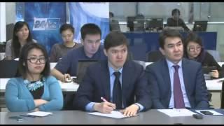 Брифинг Председателя Правления АО «Самрук-Энерго» Алмасадама Саткалиева