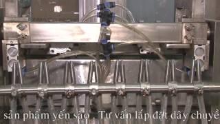 Quy trình sản xuất nước Yến Sào Cung Đình