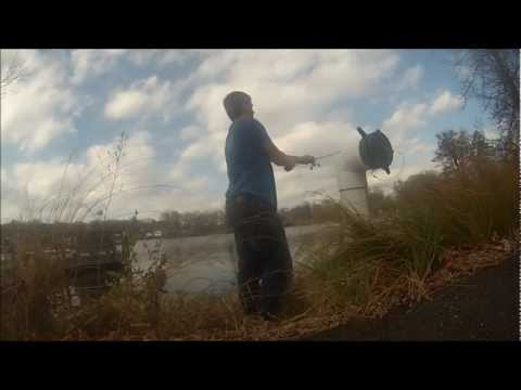 GoPro Bass Fishing – November Bass – Mill Pond