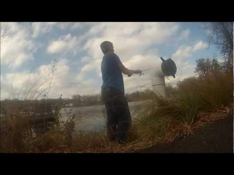 GoPro Bass Fishing – November Bass – Mill Pond