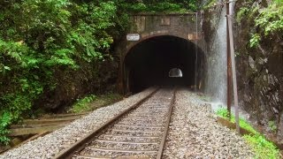 Tunnels near Dudhsagar Waterfalls