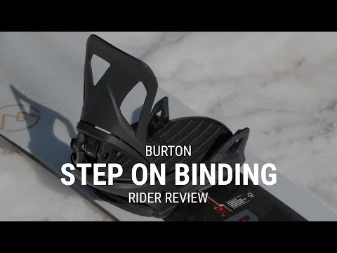 Burton Step On 2019 Snowboard Binding Review – Tactics.com
