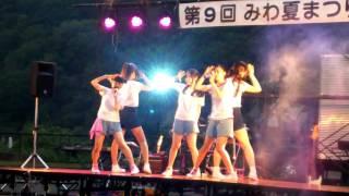 Happy3days「Summer Splash」(途中~最後まで)@第9回 みわ夏まつり(三和荘)