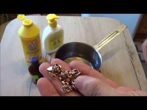 Как быстро и эффективно почистить золото в домашних условиях, чтобы блестело