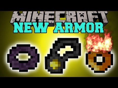 Minecraft: NEW ARMOR TYPES (EPIC RINGS, BELTS, & AMULETS) Mod Showcase