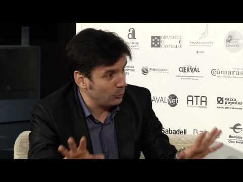 Entrevista a Javier Luxor en el #DPECV2014