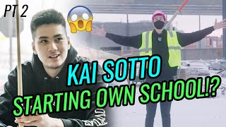 """7'2"""" Kai Sotto Is Building A SCHOOL!? Hoops & Plays POOL Vs Friends 🔥 Day In The Life Pt 2"""