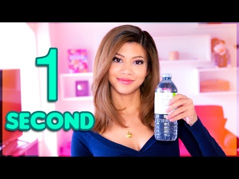 HOW TO DRINK A WATER BOTTLE IN 1 SECOND
