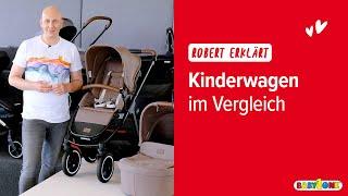 Welcher Kinderwagen passt zu mir? Kinderwagen Vergleich 2021 | BabyOne