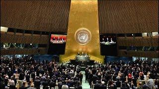 Заседание Генеральной Ассамблеи ООН в Нью-Йорке. Прямой эфир