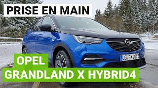 Prise en main Opel Grandland X Hybrid4 : un SUV rechargeable éclectique
