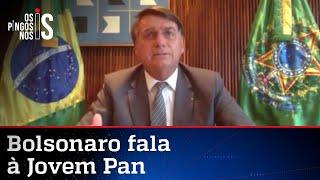 Entrevista exclusiva com o presidente Jair Bolsonaro