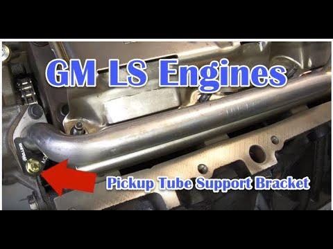 GM LS Oil Pickup Tube Bracket -Melling Performance # M29500