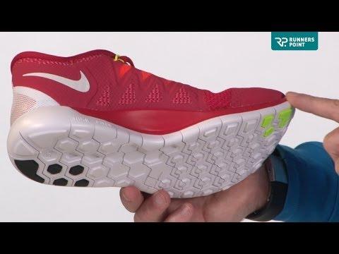 Damen Laufschuhe Nike Free 5.0