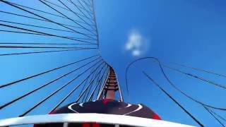 Planet Coaster: SUPER COASTER 200M DROP! POV VIEW