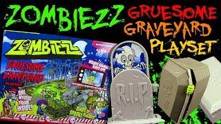 Zombiezz - Gruesome Graveyard / Grausamer Zombie Friedhof - Playset