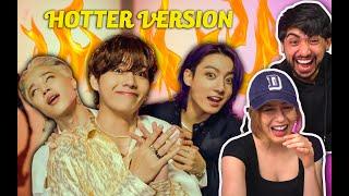 BTS 'Butter' Official MV (Hotter Remix) - COUPLES REACTION!