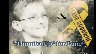 Thumbs Up  for Lane Goodwin - 2013 WBKR St. Jude Children's Research Hospital Song