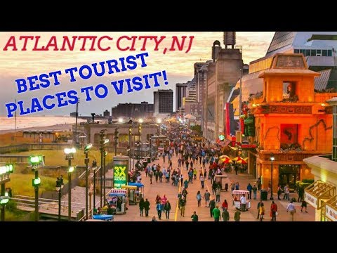 (BEST!!!) Tourist Places To Visit In Atlantic City| Travel Things To Do Vlog #13