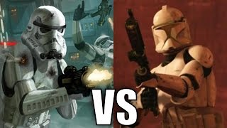 Stormtroopers vs Clone Troopers (Phase 1)