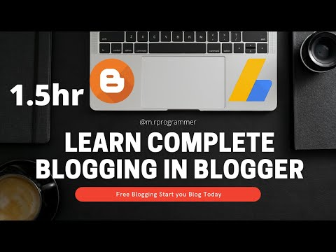 Complete Blogging Tutorial (Hindi)| Beginner to advance | Blogger | Seo| Custom Domain | blogRanking
