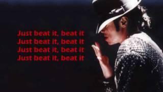 beat it .== Michael Jackson FT Fergie LYRICS
