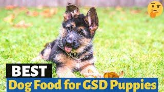 Best Dog Food for German Shepherd puppies 😍