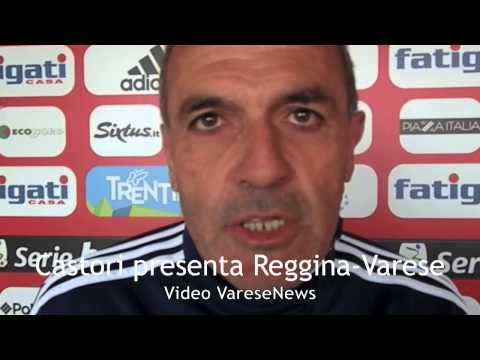 Mister Castori presenta Reggina-Varese
