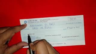 How To Make Abundance Cheque (Hindi)
