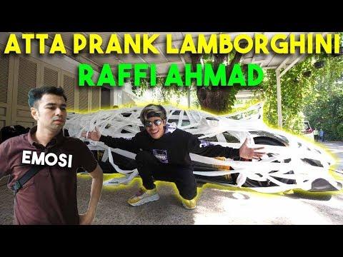 PRANK LAMBORGHINI RAFFI AHMAD! DIA MARAH PANGGIL KEAMANAN
