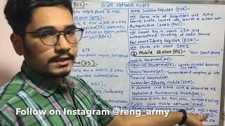 Wireless Technology | Tutorial #18 | GSM Network Nodes