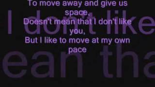 Jasmine Villegas -serious (Lyrics On Screen)