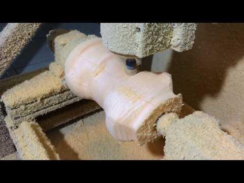 Манекен на ЧПУ. Токарная обработка пенопласта