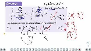 Eğitim Vadisi AYT Matematik 22.Föy Belirli İntegral 1 Konu Anlatım Videoları