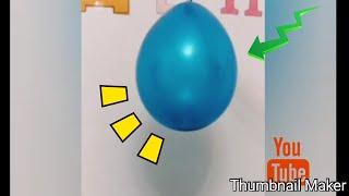 Взорвали шар с конфетти 🎊//Эми life
