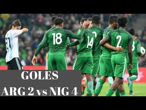 Argentina 2 vs Nigeria 4 - Resumen y Goles
