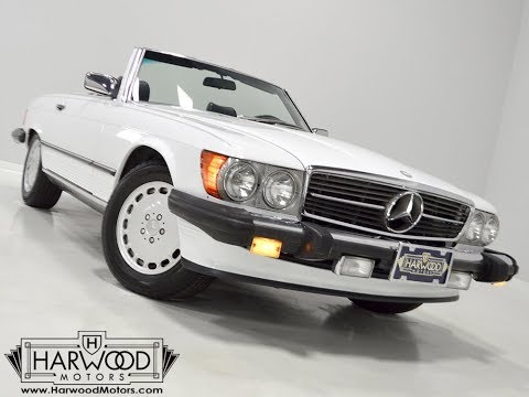 Video of '89 560SL - LU71